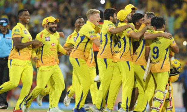 Chennai Super Kings beat Sunrisers Hyderabad to win the Indian Premier League 2018