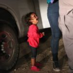 Migrant families separation poster girl not taken from mum