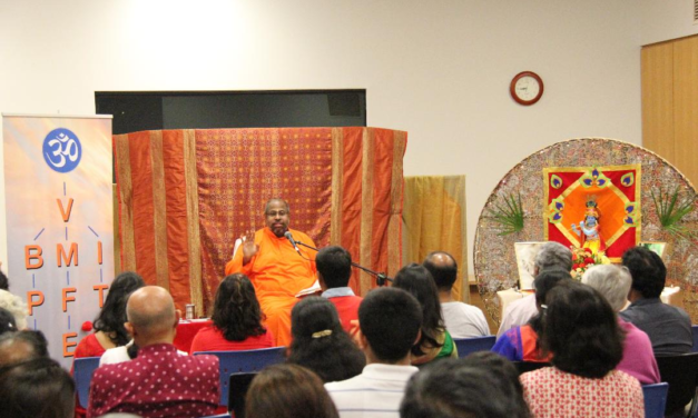 Chinmaya Mission:  Bhagavad Gita Chapter 2: Many Problems One Solution– 18th April to 21st April