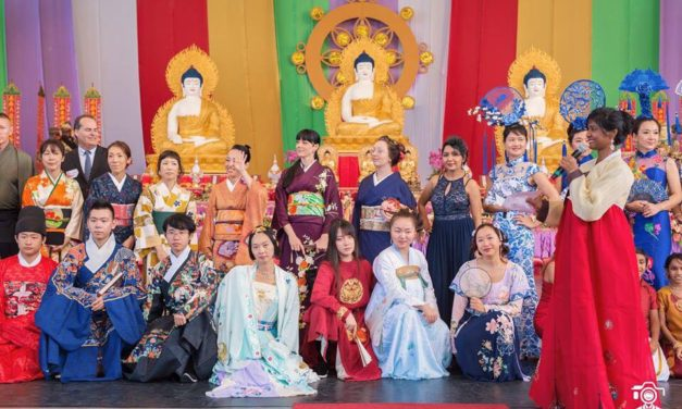 Red Carpet Function once again hosts their multicultural fashion show successfully at Buddha Birthday Festival 2018