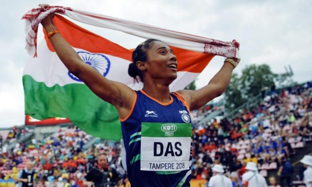 Athlete Hima Das does India proud, but federation tweet on her 'English skills' has people shocked