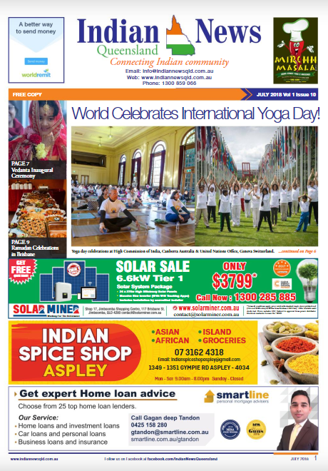 Indian News Queensland July 2018 Magazine
