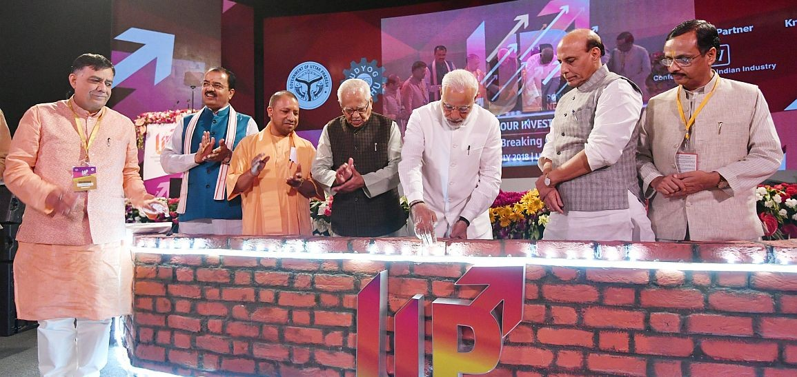 PM attends groundbreaking ceremony of various projects in Uttar Pradesh