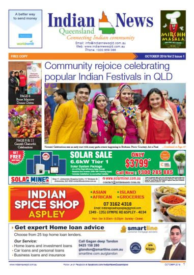 Indian News Queensland October 2018 Magazine