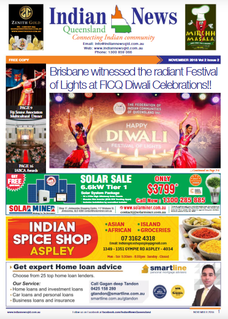 Indian News Queensland November 2018 Magazine