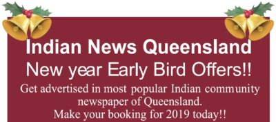 New Year Early Bird Offers!
