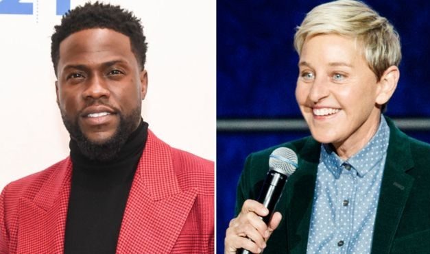 Ellen urges Kevin Hart to reconsider hosting the Oscars
