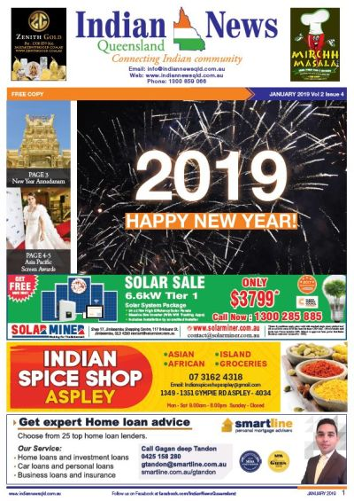 Indian News Queensland January 2019 Magazine