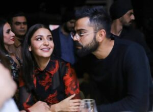 Anushka Sharma pulling husband Virat Kohli's cheeks in this vacation video is everything love
