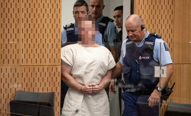New Zealand shooting: 49 dead Australian man charged over mosque shootings