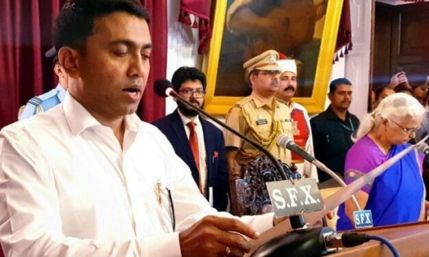 New BJP-Led Govt in Goa to face floor Test Today CM Pramod Sawant Confident of Victory