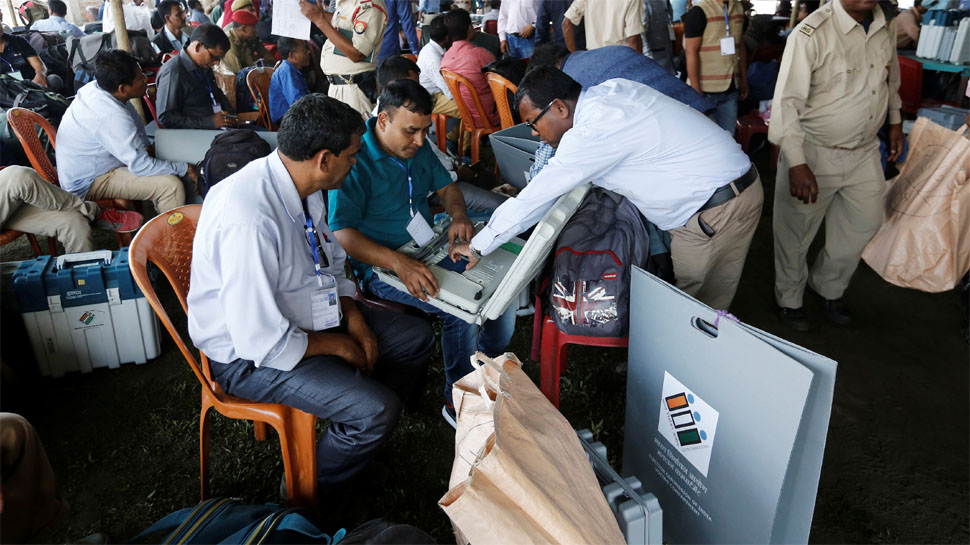 Faulty EVMs Delay Election Proceedings in Andhra Pradesh Voting Continues Till Midnight