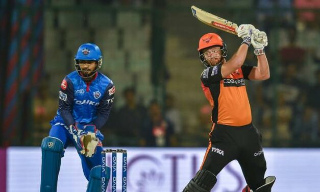 IPL 2019: Bairstow's blitzkrieg bowlers make it three wins in a row for well-rounded SRH