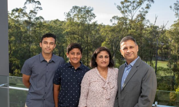 Location, luxury and Lifestyle Draw Sharma family to Brookwater