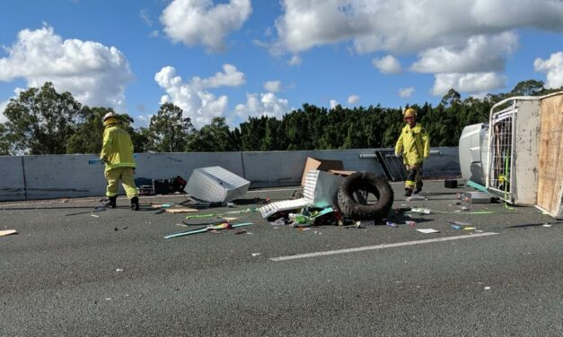 Gold Coast Traffic Chaos as Accident Closed M1
