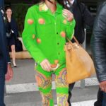 Kendall Jenner Sports Bizarre Psychedelic Outfit Amind Ben Simmons Breakup Claims