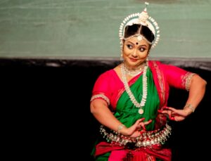 Therma Koshy performing Odissi