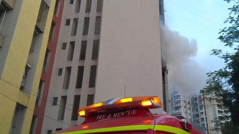 Maharashtra: Fire Breaks Out at Building in Thane's Patlipada Rescue Operations Underway