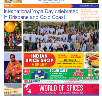 Indian News Queensland – Vol 2 Issue 10