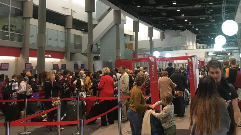Mass Chaos at Brisbane, Gold Coast Airports as Flights to Sydney Cancelled