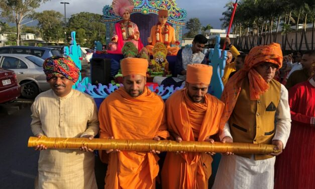 BAPS Holds Rath Yatra in Kingston