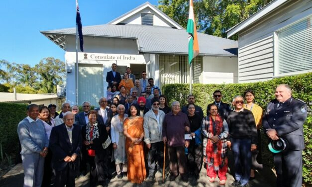 India's 73rd Independence Day Celebrated in India and Australia
