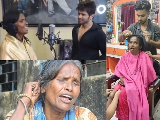 Indian woman who sings on trains for a living bags Bollywood movie contract