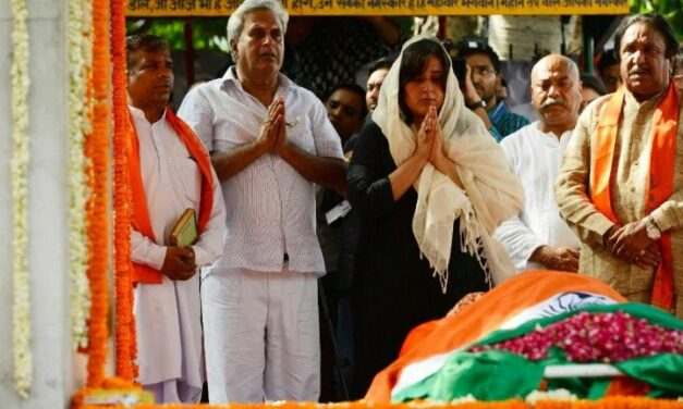 Goodbye, Sushma Swaraj. People's Minister Cremated with full State Honours