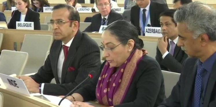 Pakistan's Allegations On Kashmir Concocted: India Slams Pak at UNHRC