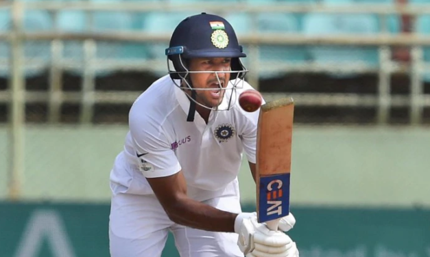 India vs South Africa: Mayank Agarwal Hits Maiden Test Hundred