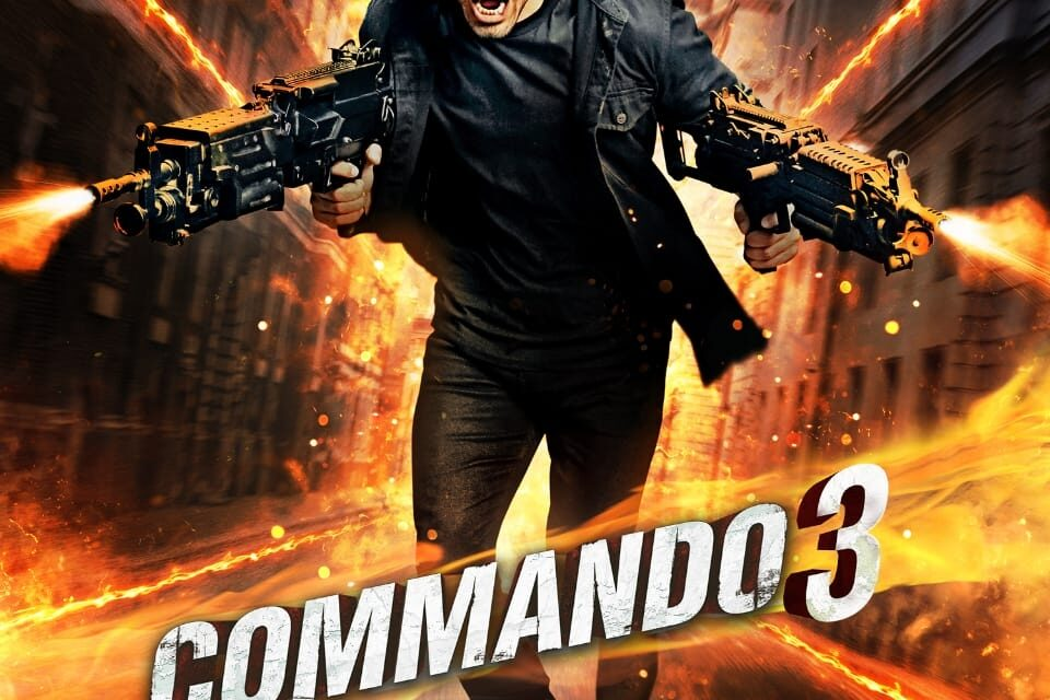 Commando 3: Pop goes patriotism again (IANS Review, Rating)