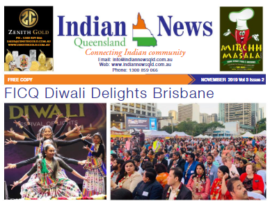 Indian News Queensland – November 2019 Vol 3 Issue 2