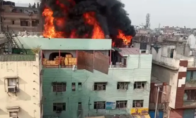 Centre Minted False Claims To Hide Corruption In Fire Tragedy: Delhi