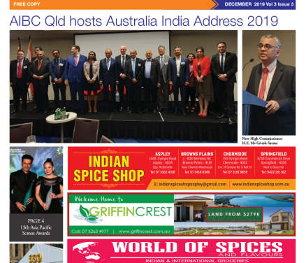 Indian News Queensland – December 2019 Vol 3 Issue 3