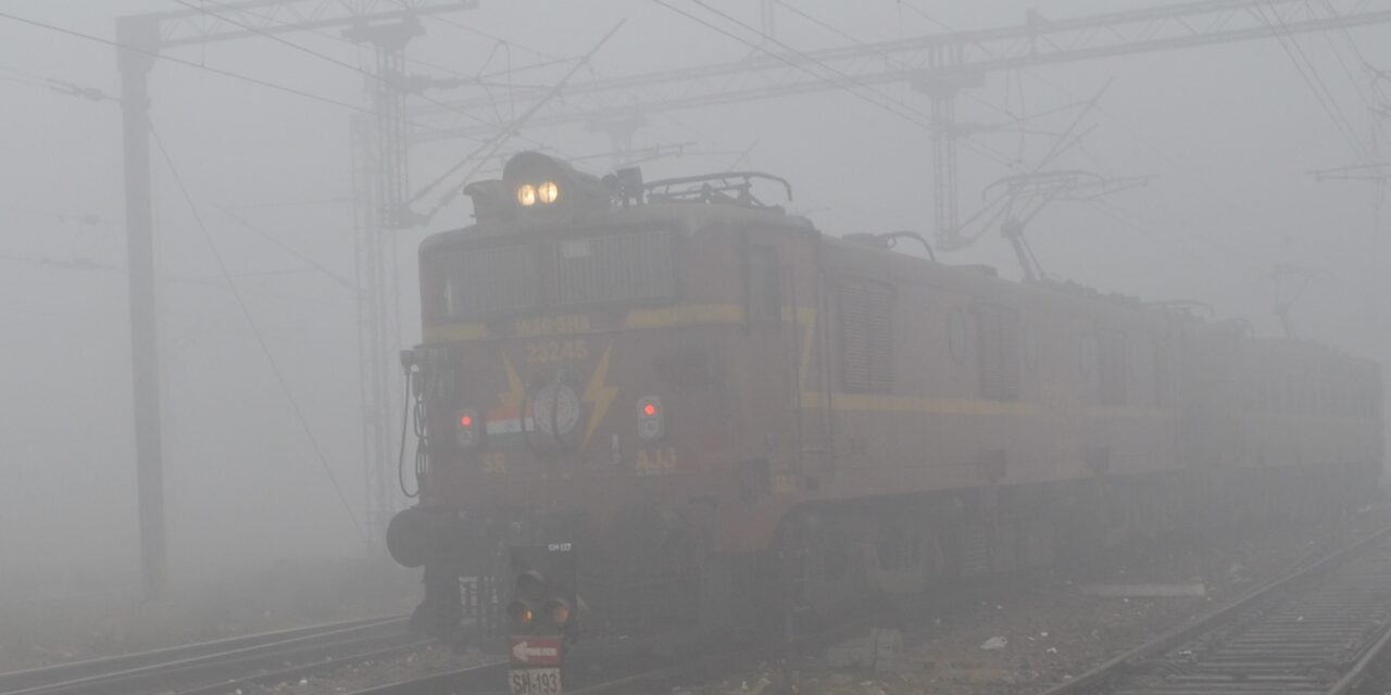 26 Delhi-Bound Trains Delayed Due To fog In North India