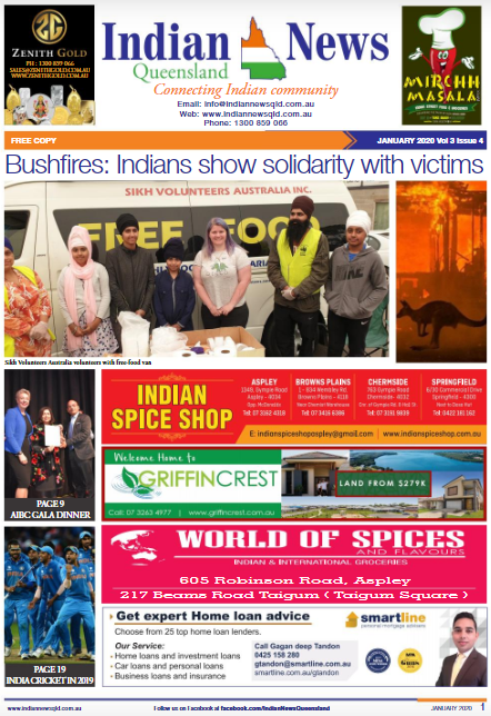 Indian News Queensland –  January 2020
