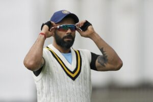 Wellington: Indian Captain Virat Kohli during the practice session ahead of the first Test against New Zealand at Basin Reserve cricket stadium in Wellington, New Zealand on Feb. 19, 2020. (Photo: Surjeet Yadav/IANS)