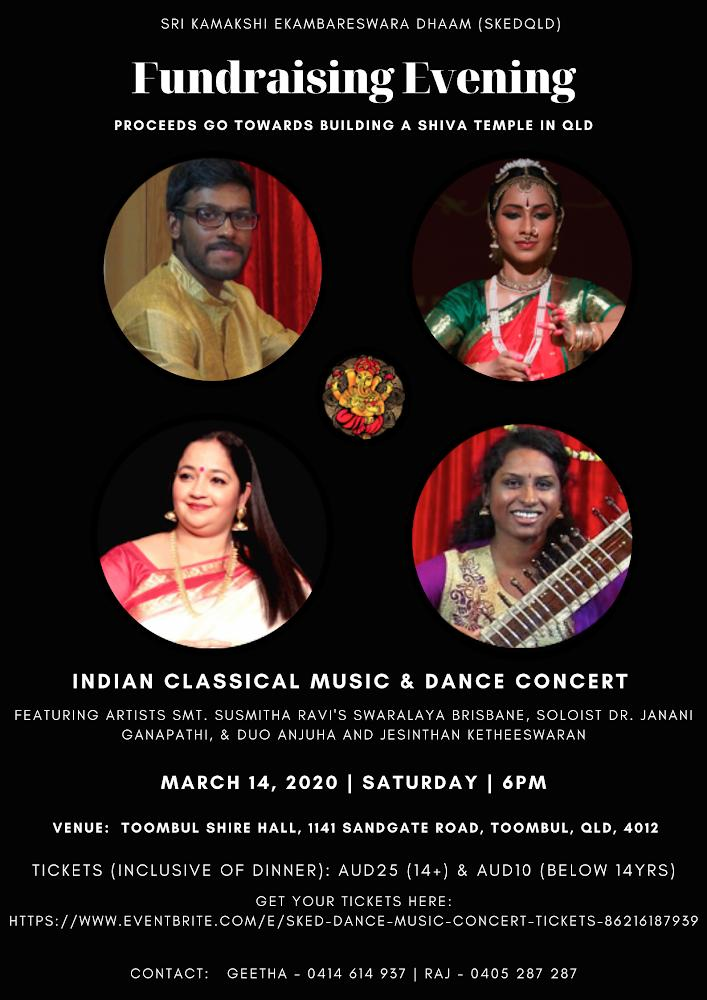 Indian Classic Musical & Dance Concert