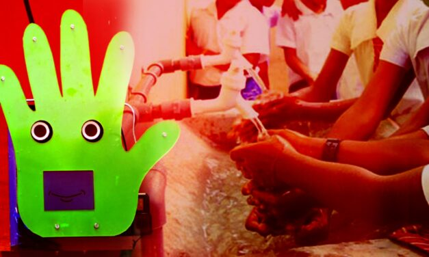 Robot Pepe To Make Delhi Students Wash Their Hands