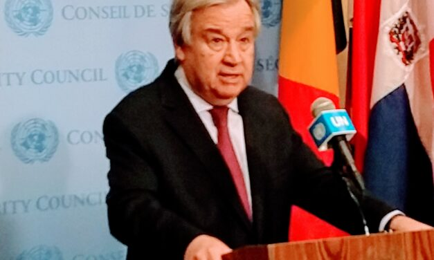 Guterrres orders all non-essential UN HQ staff to telecommute