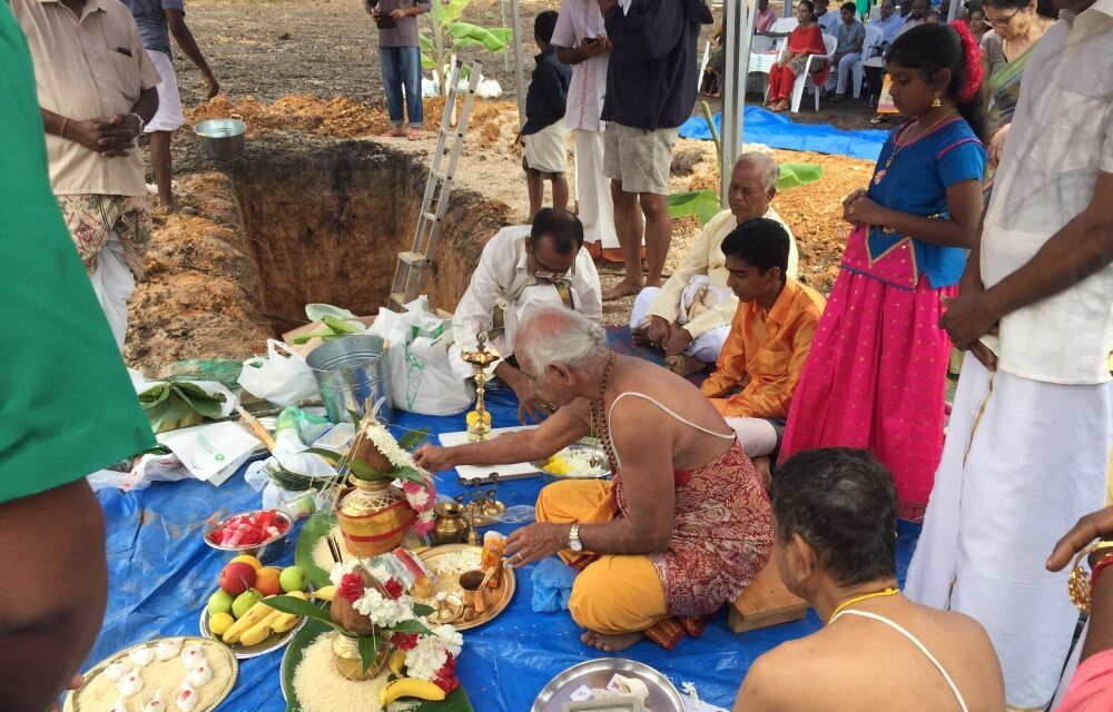 GCHCA holds Bhoomi Pooja and stone-laying Ceremony