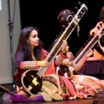 Sudha Manian on sitar