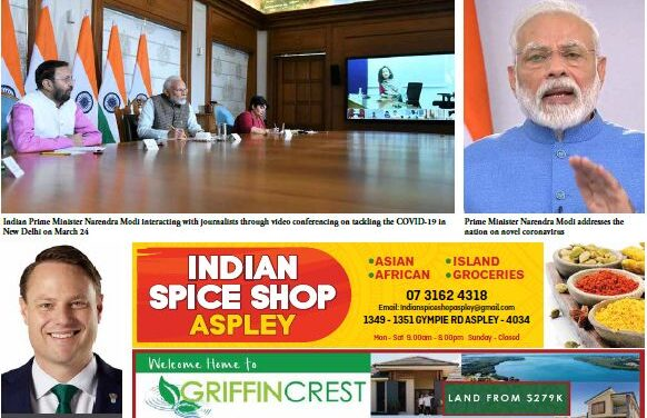Indian News Queensland – April 2020 Vol 3 Issue 7