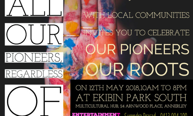 Join the Celebration of Pioneers Festival by Fiji Senior Citizen Association of Qld Inc