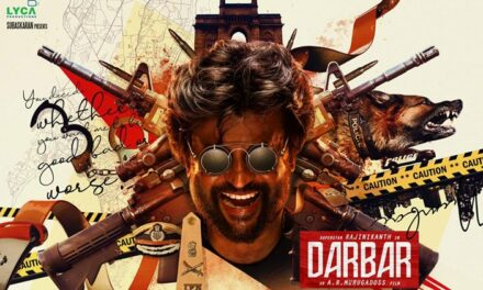 Superstar Rajinikanth is Back with Darbar See first Look
