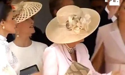 Chatty Kate Middleton Pulled Into Line by Camilla at Order of the Garter