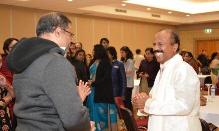 Guru Purnima with Yogi Sri Srinvias Arka