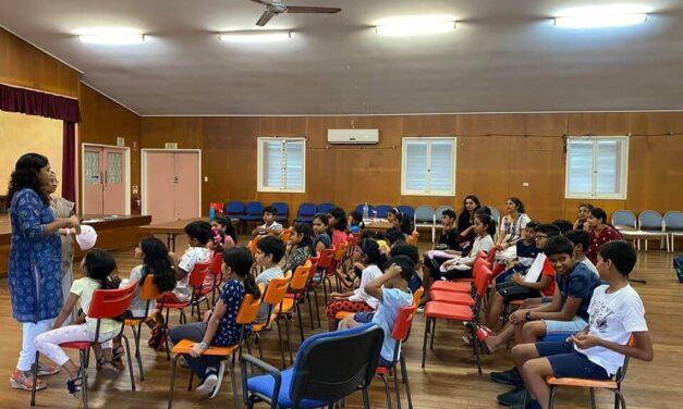 MAQ holds Malayalam classes for kids