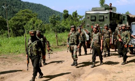 Massive searches on to nab Hizbul chief Riyaz Naikoo in Pulwama district